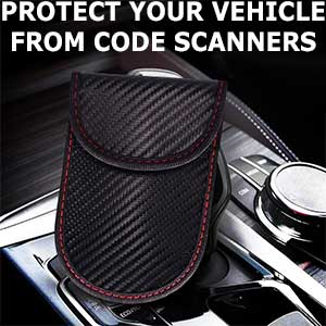 Protect your vehicle from code scanners