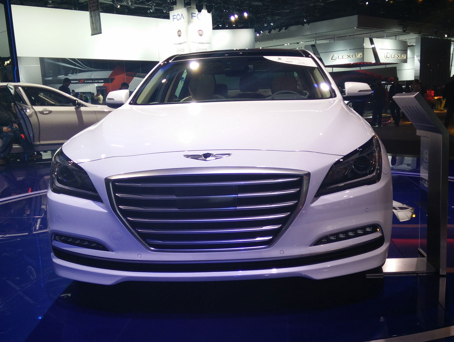 Is the third generation Hyundai Genesis Sedan going to shrink?