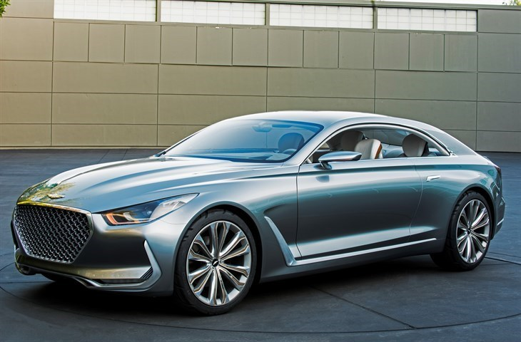 Vision G Coupe Concept by Hyundai Motors