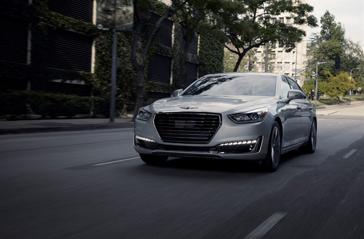 Genesis G90 Finalist for 2017 Car of the Year