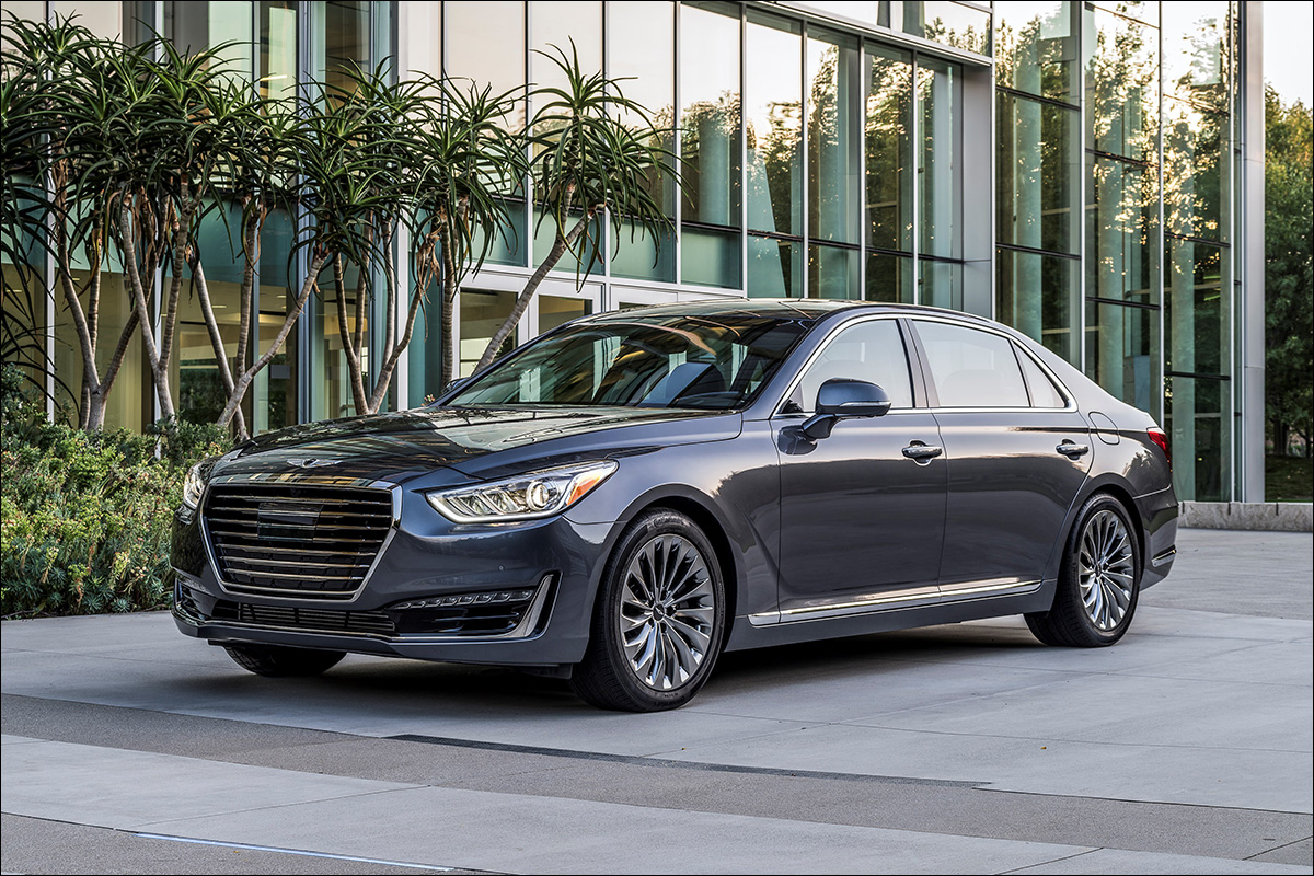 Genesis G90 Flagship Delivers Luxury