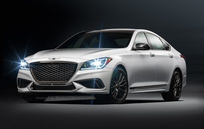 2018 Genesis G80 Sport Trim Debuts With 3.3 Liter Turbocharged Engine And Performance Styling