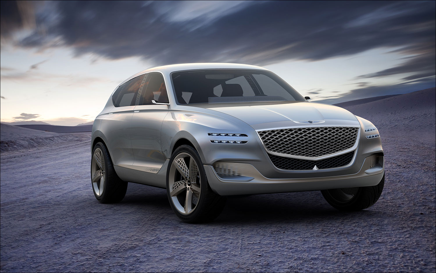 Perfect GV80 Genesis Fuel Concept SUV Revealed At New York