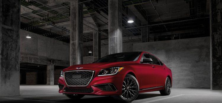 2018 Genesis G80 Sport Boasts Potent Engine, Bold Styling