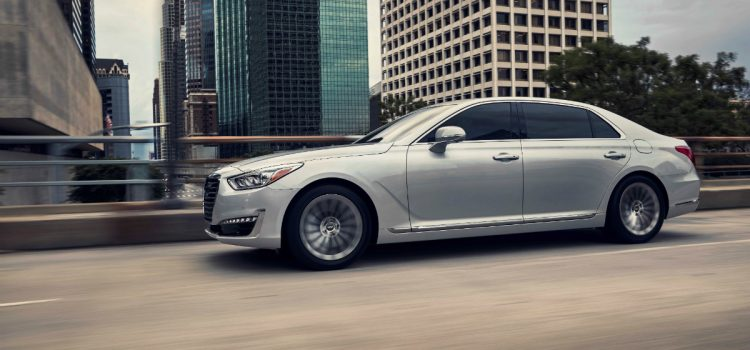 2017 Genesis G90 Earns Total Quality Award