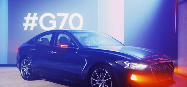 Genesis G70 Luxury Performance Sedan Launched in Russia