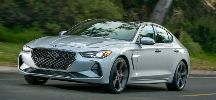 2019 Genesis G70: Tailored To Be Driven