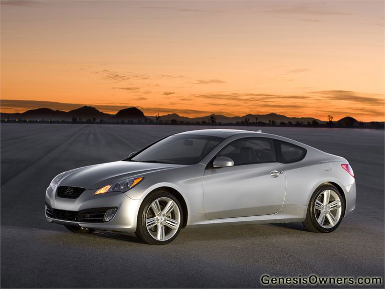 Hyundai Genesis Sports Car