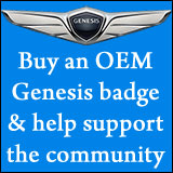 Buy OEM Genesis badges and emblems