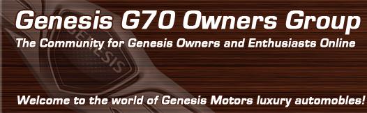 genesis g70 forum